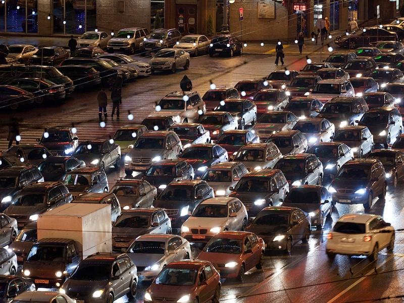 Яндекс предсказывает пробки вНижнем Новгороде перед майскими праздниками